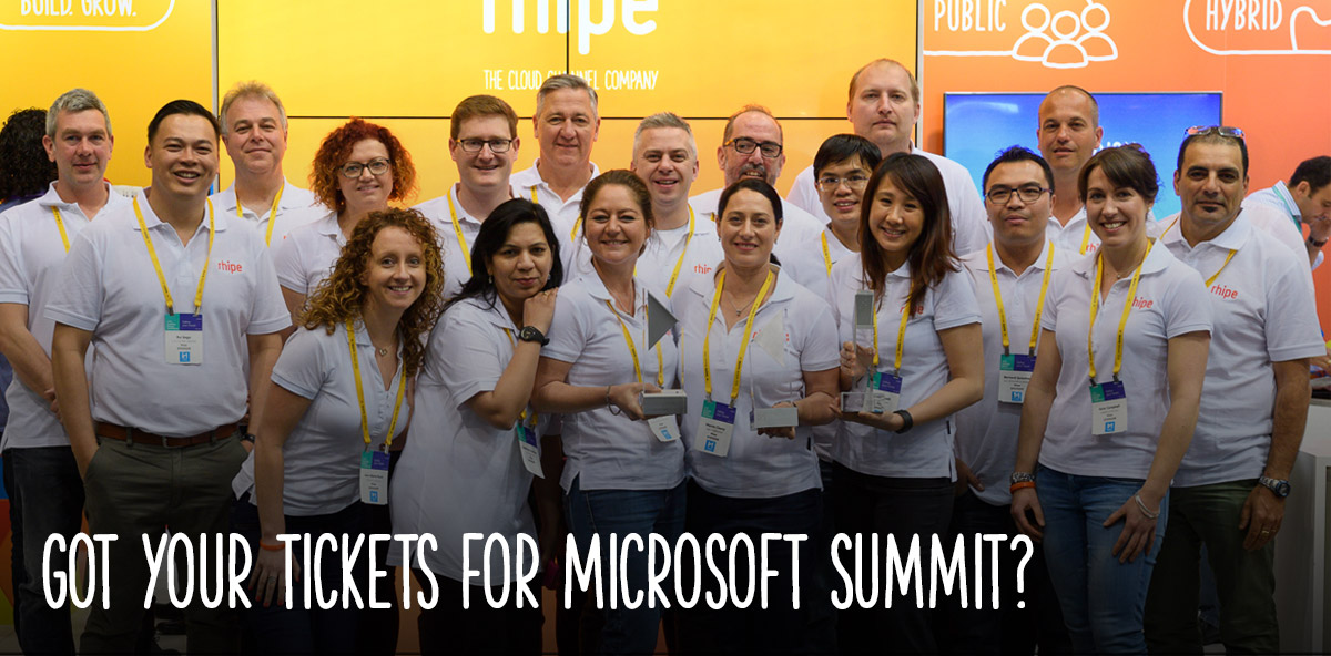 Got your tickets for Microsoft Summit?
