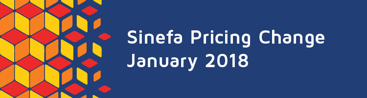 Sinefa Price Change