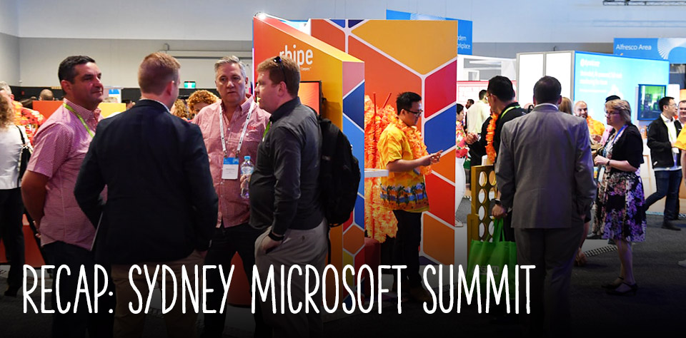 Recap: Sydney Microsoft Summit & a rhipe Beach Party!